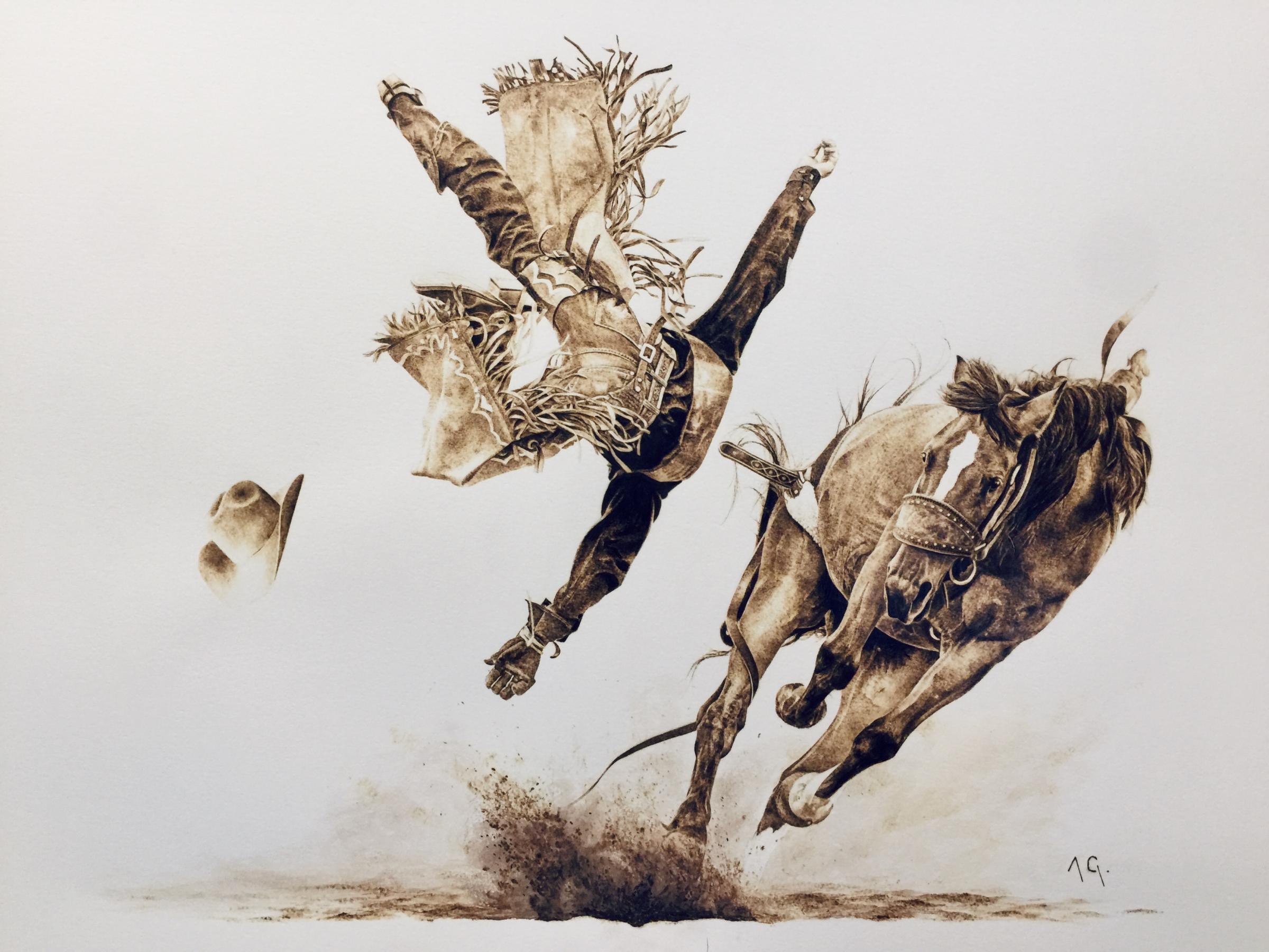 The Bronc by Alexandra Glueckler