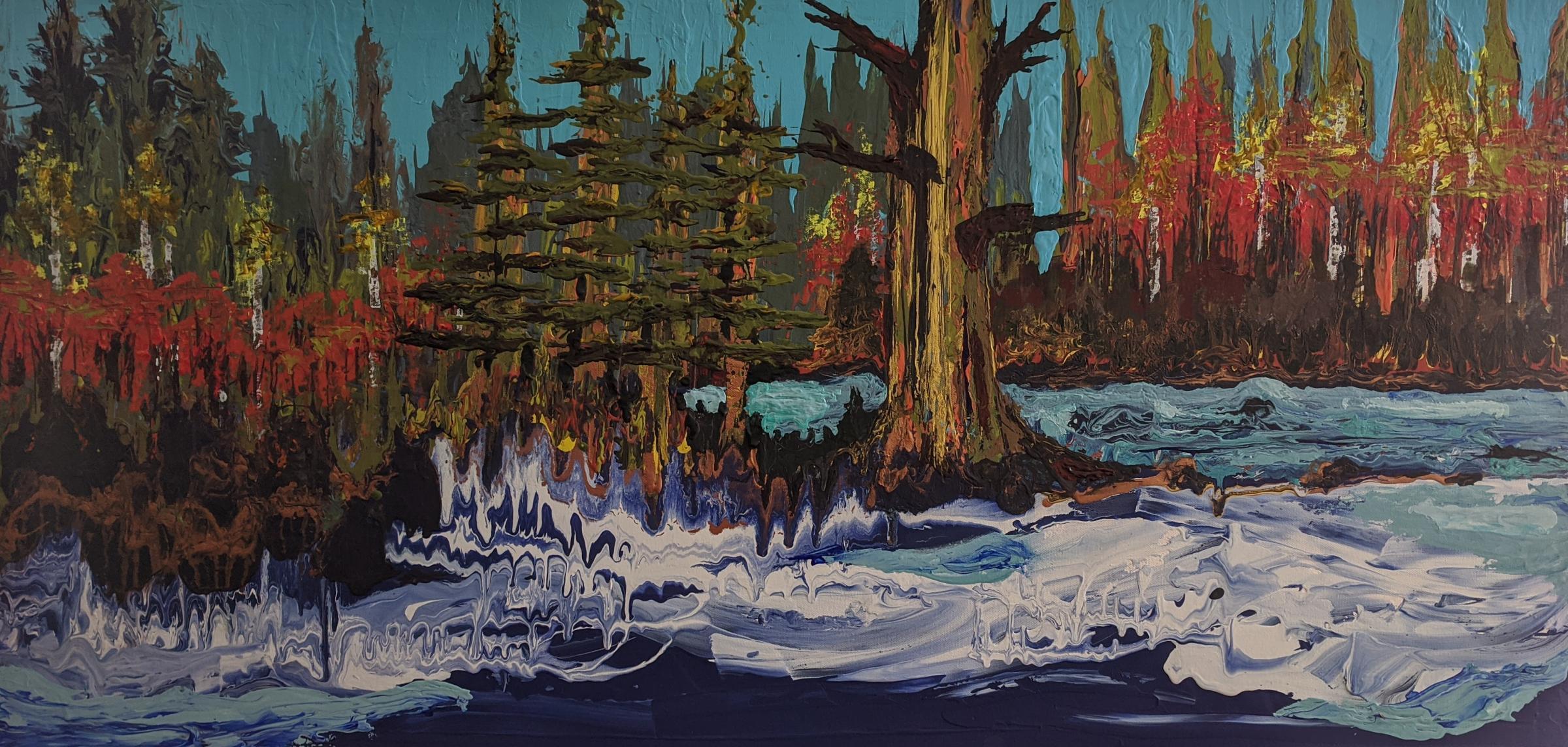 Bend in the River by Laurel B Pedersen