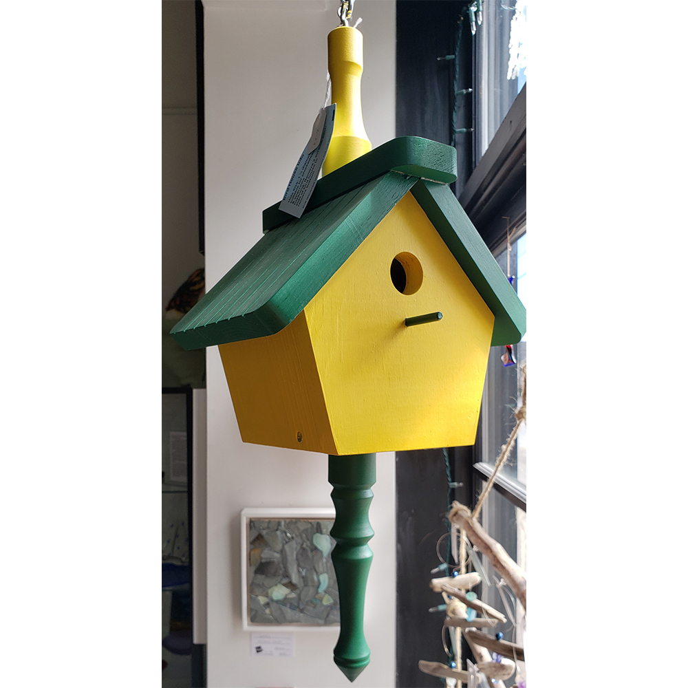 Bird house $65 by Brian Graham
