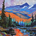 Edward Albert from Hairtrigger Lake 14×18 2015