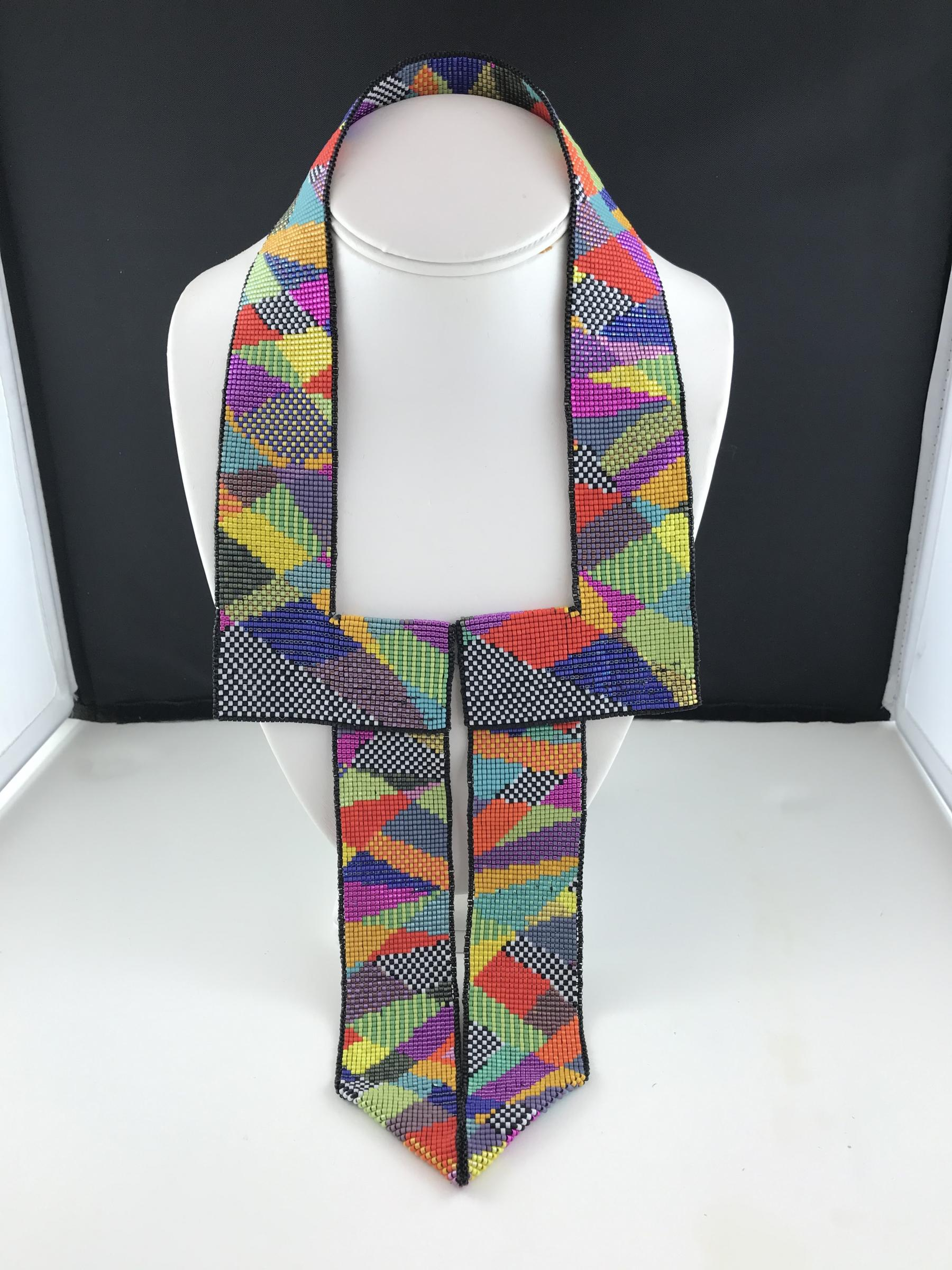 Harlequin Necklace by Beverley Smith