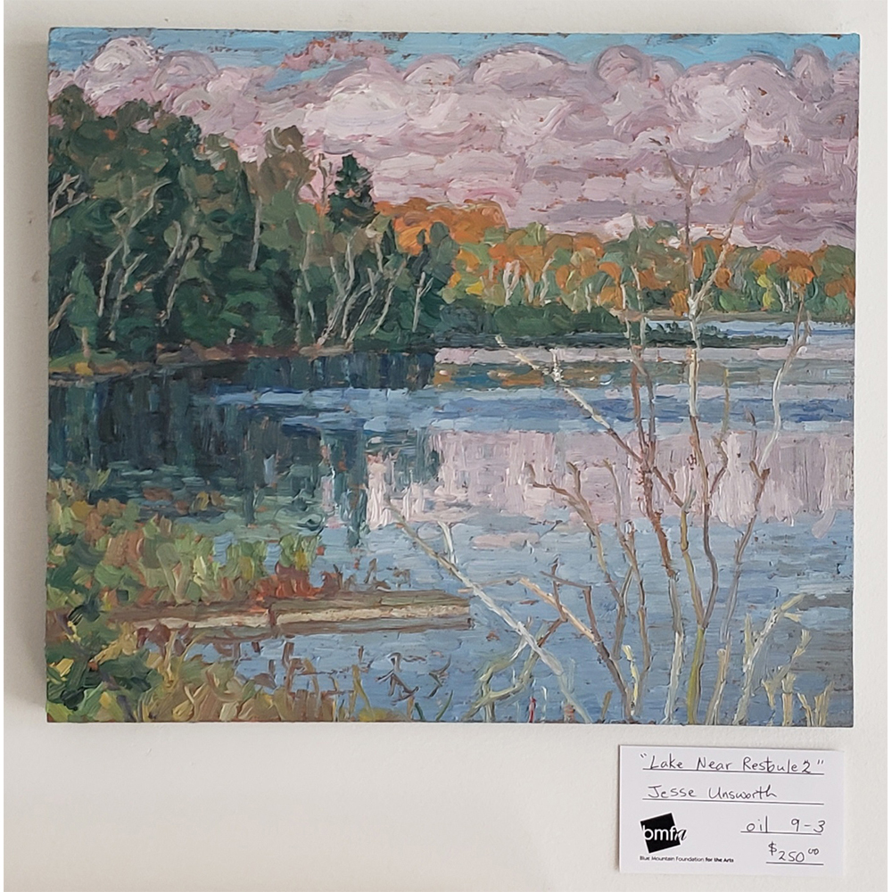 Lake Near Restoule 2 by Jesse Unsworth $250