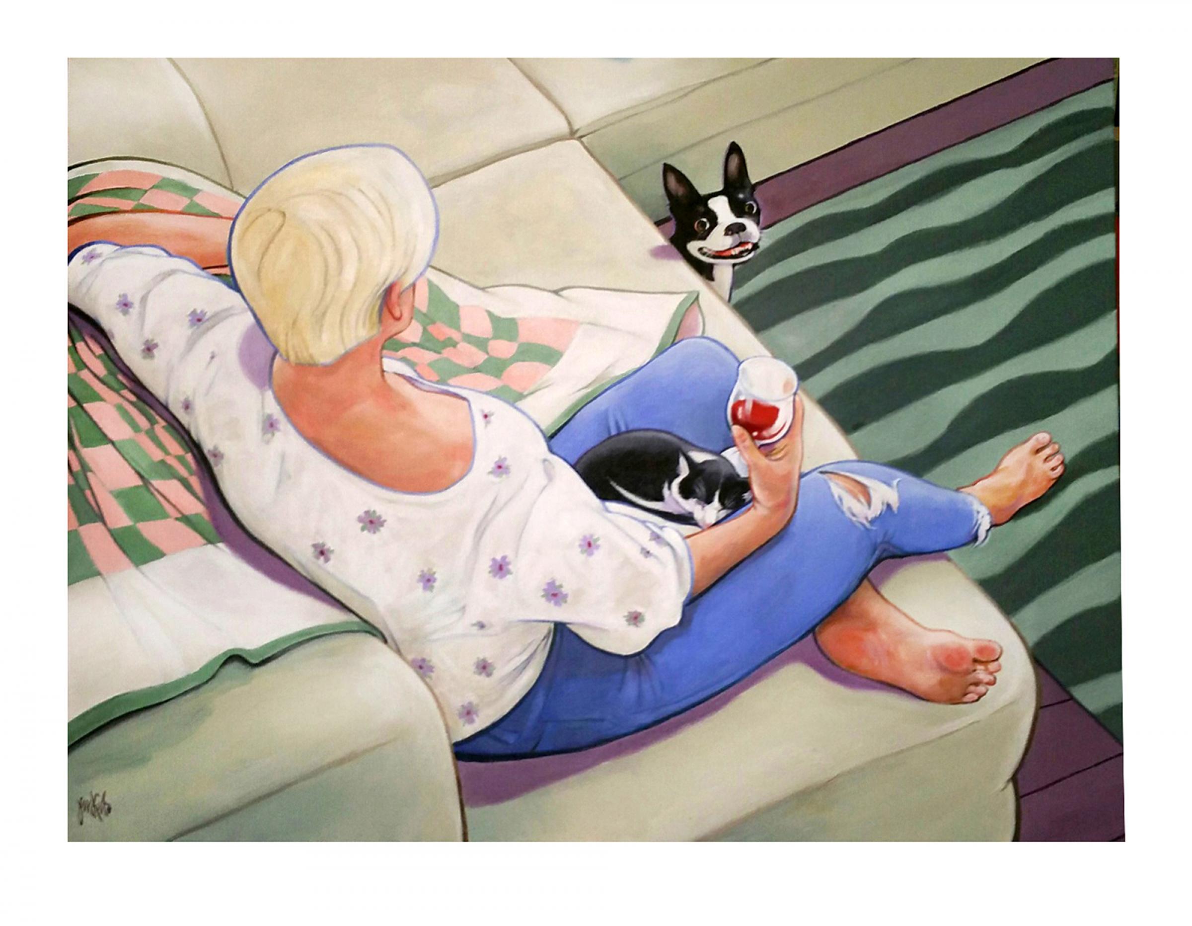 Leisure XIV by Anthony Jenkins