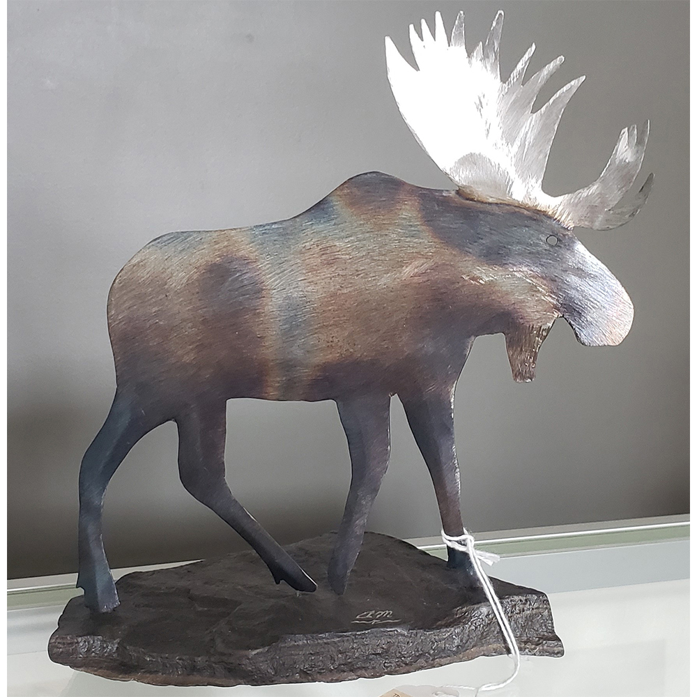 Moose by Al Matchett Aluminum $95