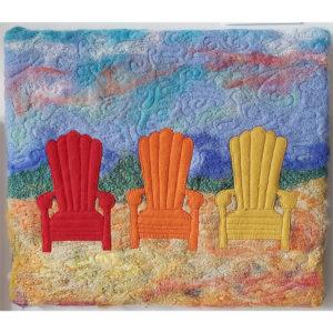 Muskoka Chairs Trio Richenda Ellis $250