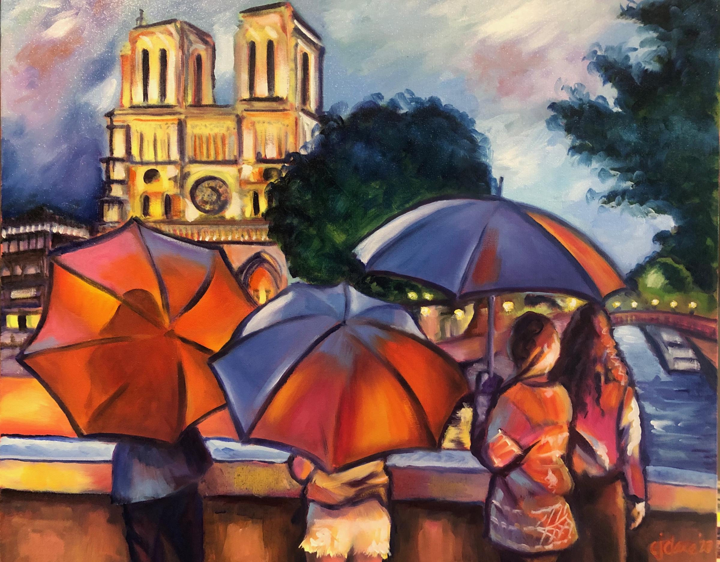Parapluie by Christina Clare