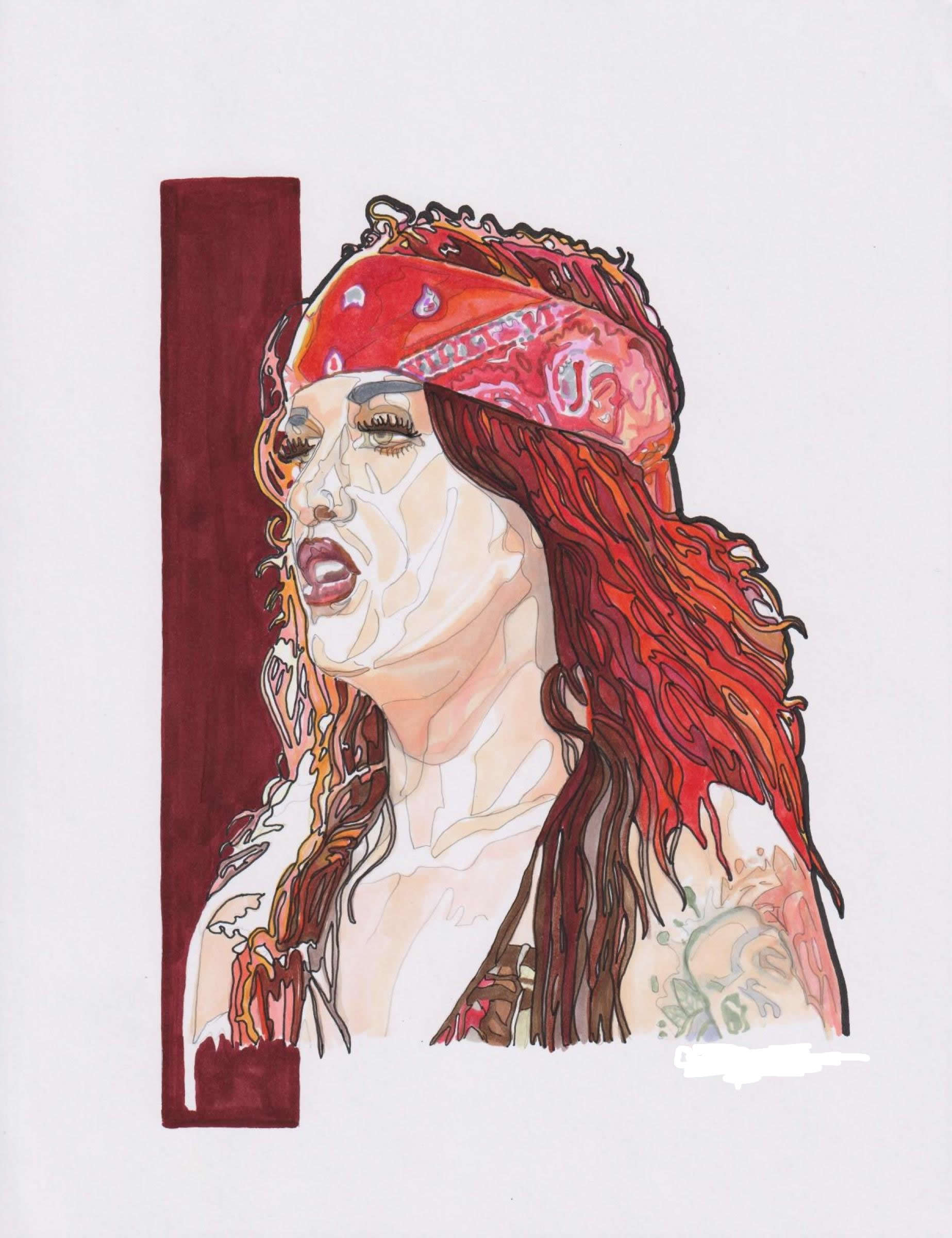 Portrait of Drag Queen Adore Delano by Colleen Thompson