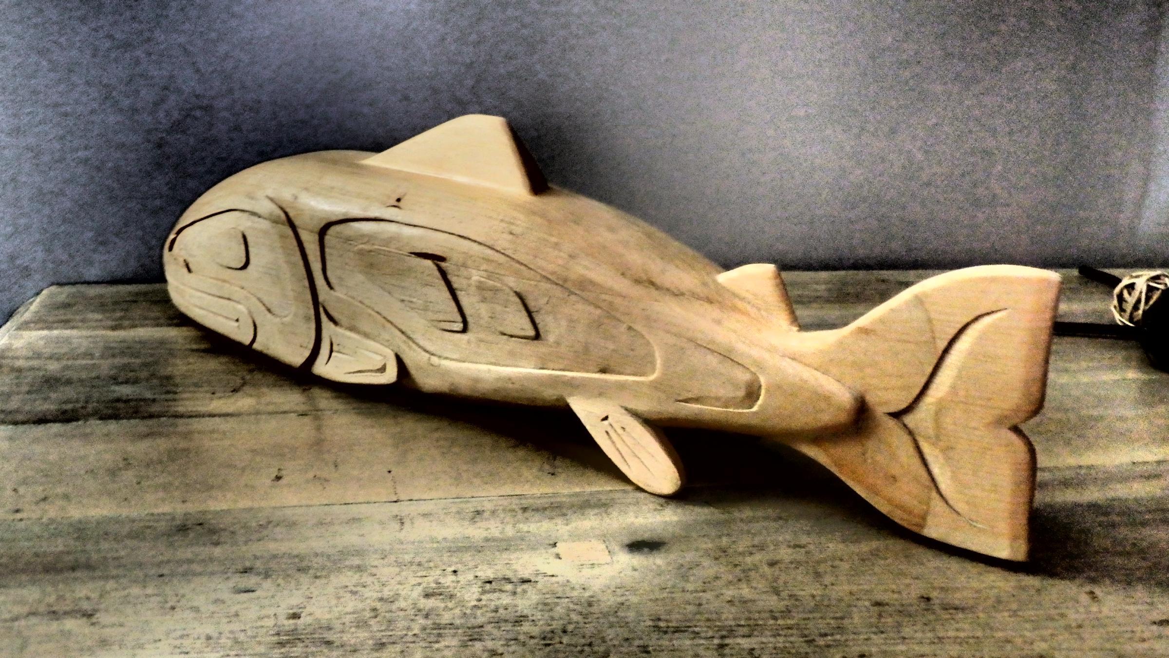 SFN Wooden Fish by Elwood Koo