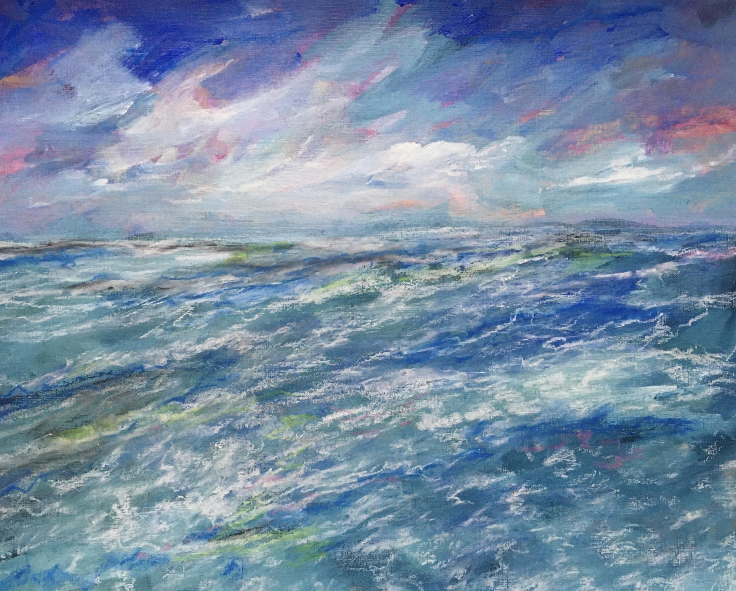 Stormy Waters by Pauline Jennett