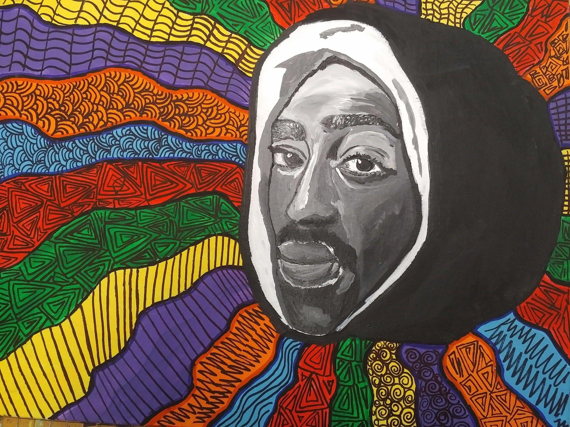 Tupac by Trinity Whitehead