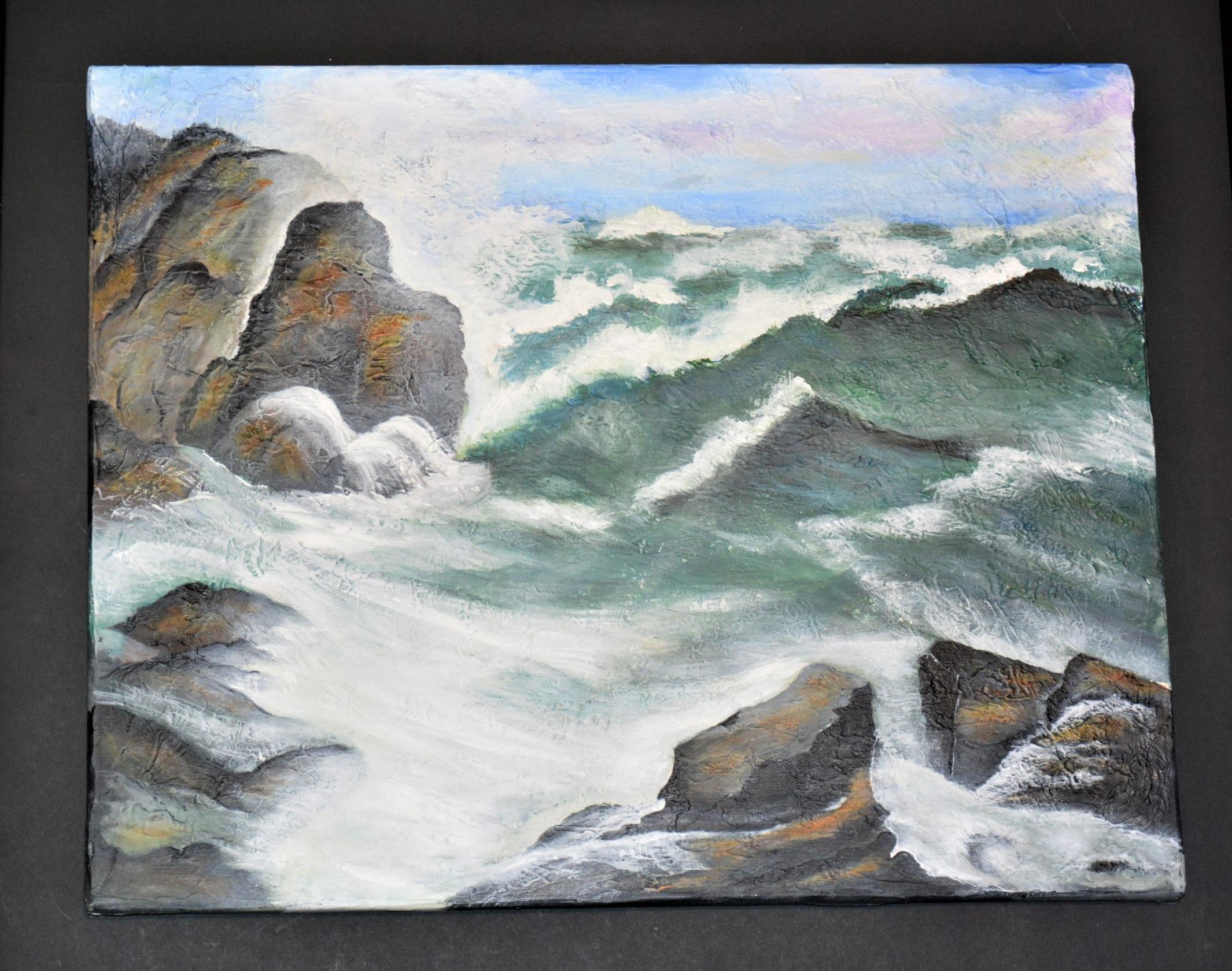 Turbulent Waters by Colette Bailey