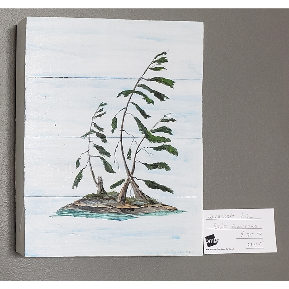 Windswept Pines by Dave Saunders $75