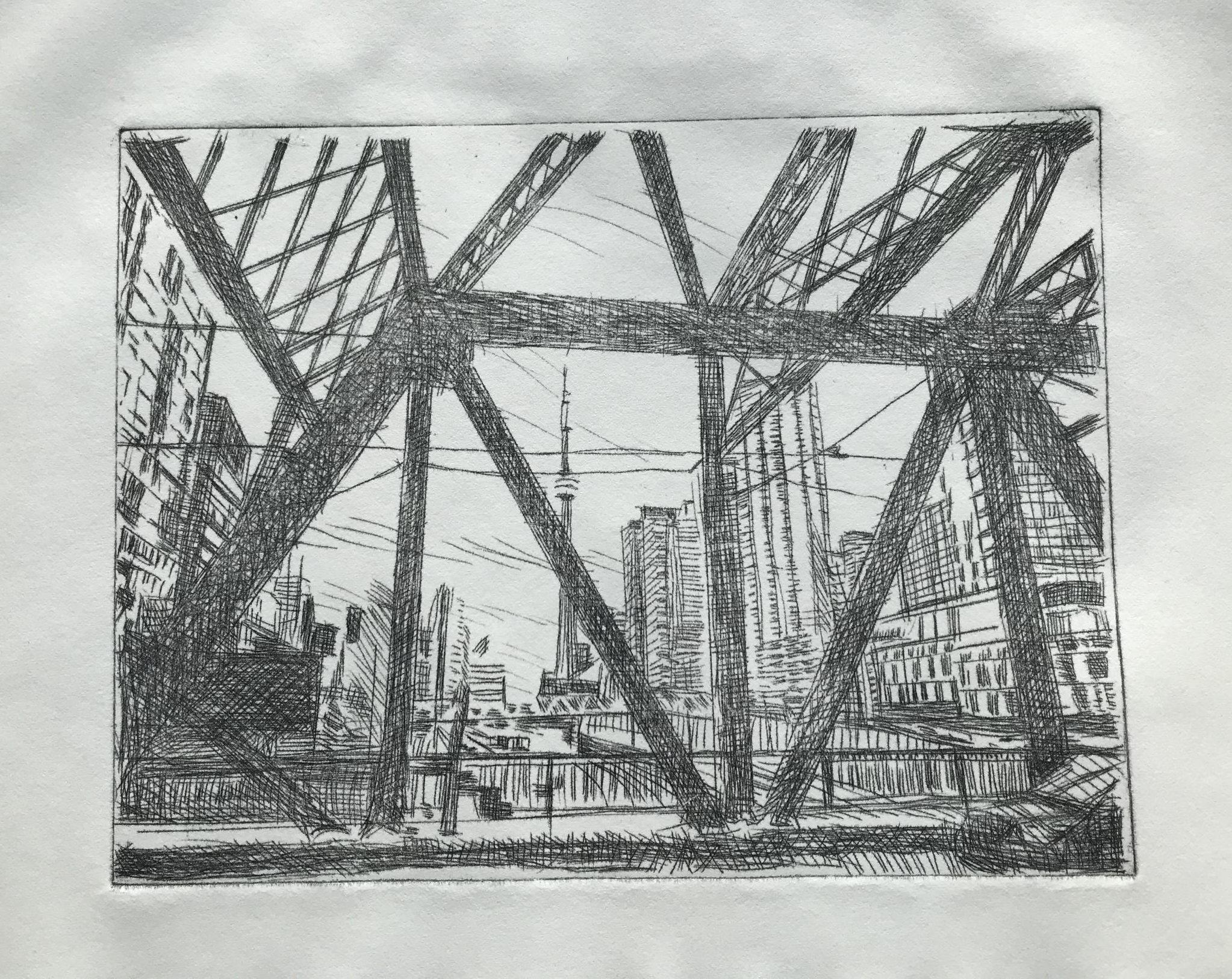 Bathurst Bridge by Ross Skoggard