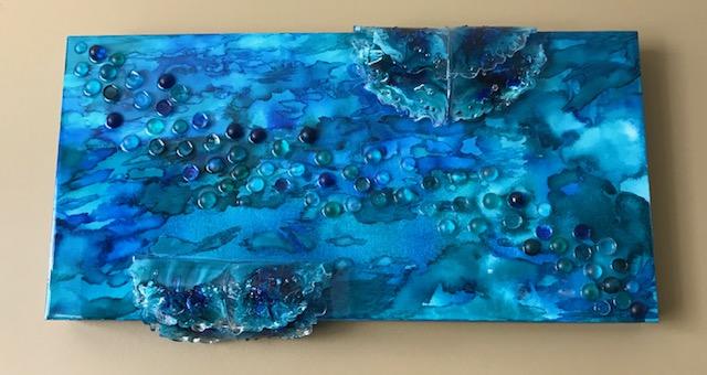 Deep Water on Georgian Bay by Sylvie Huntley $595