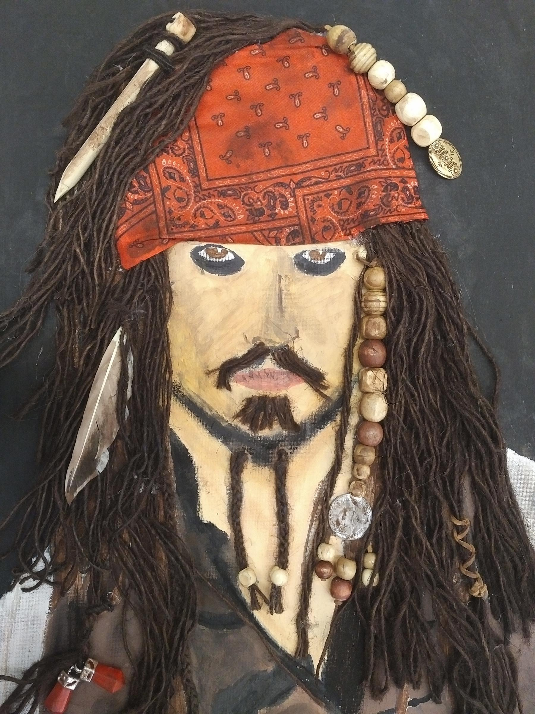 Jack Sparrow by Brianna Negron