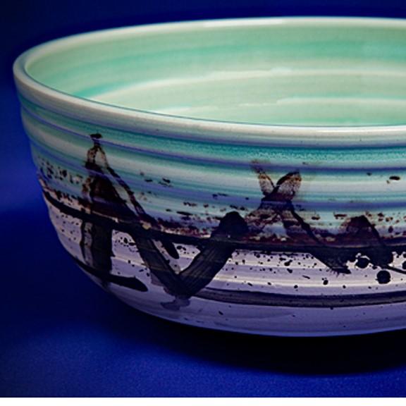 Large Bowl in Porcelin