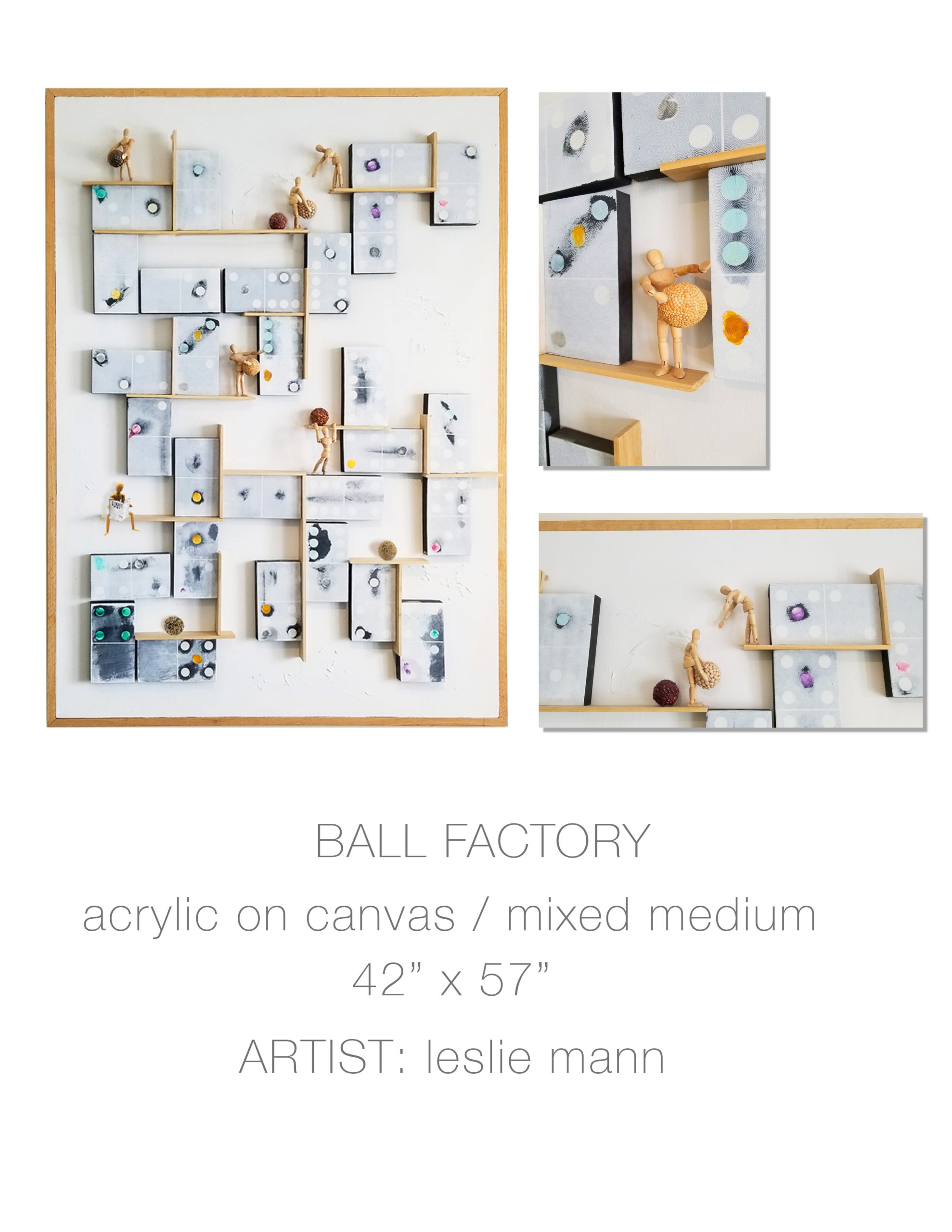 Ball Factory by Leslie Mann