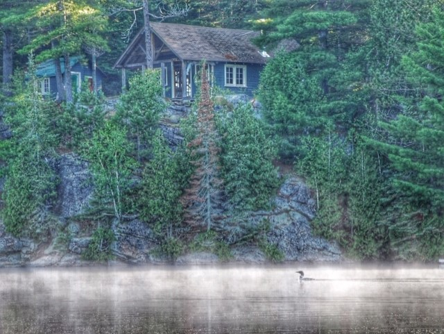 Day Break on Joe Lake by Barbara Hicks