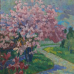Study for Magnolia Path