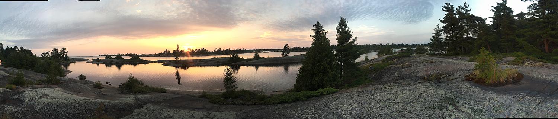 Stone Island's Sunset by Jack Leonhardt