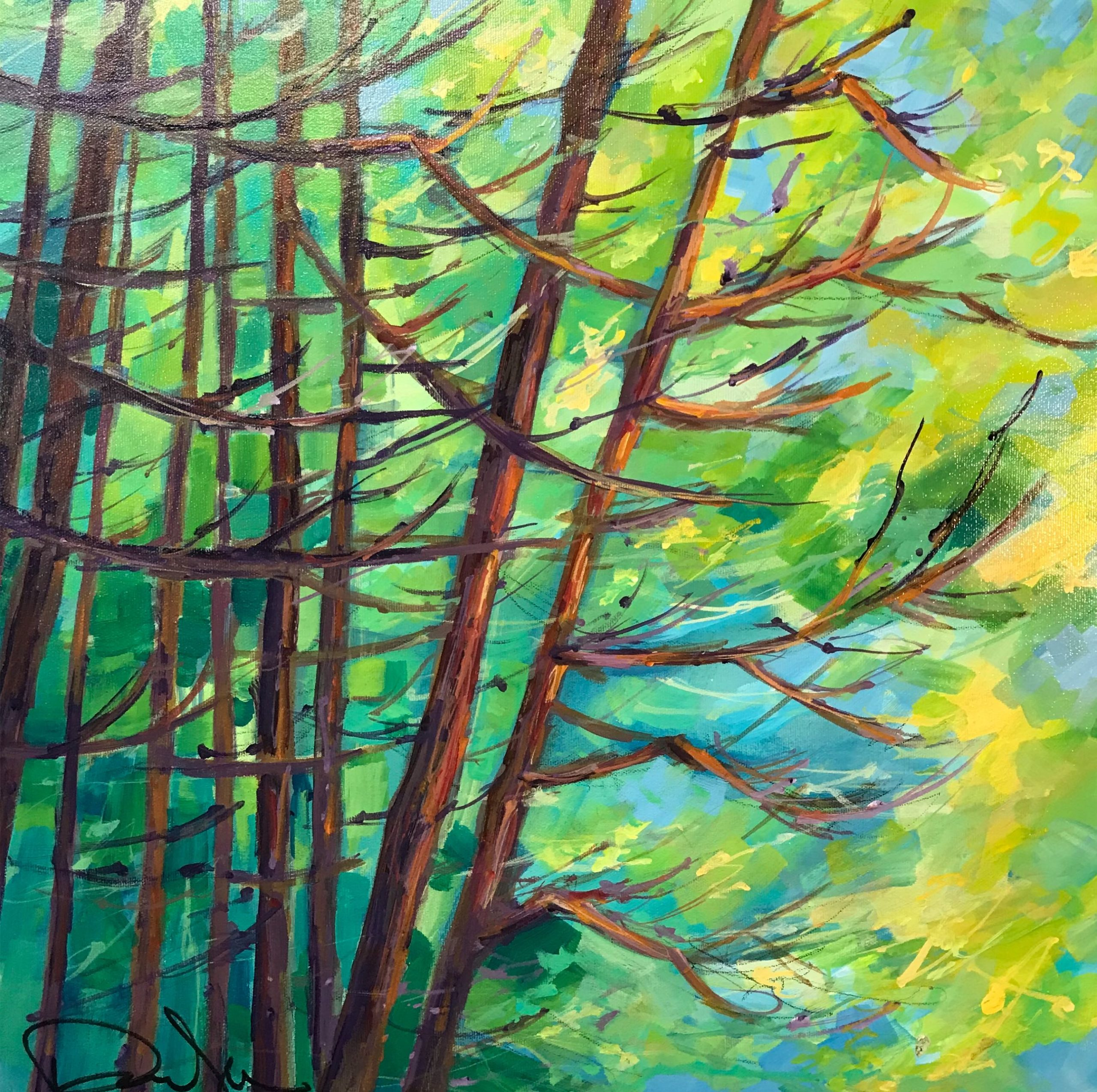 Into the Forest We go by Pauline Jennett