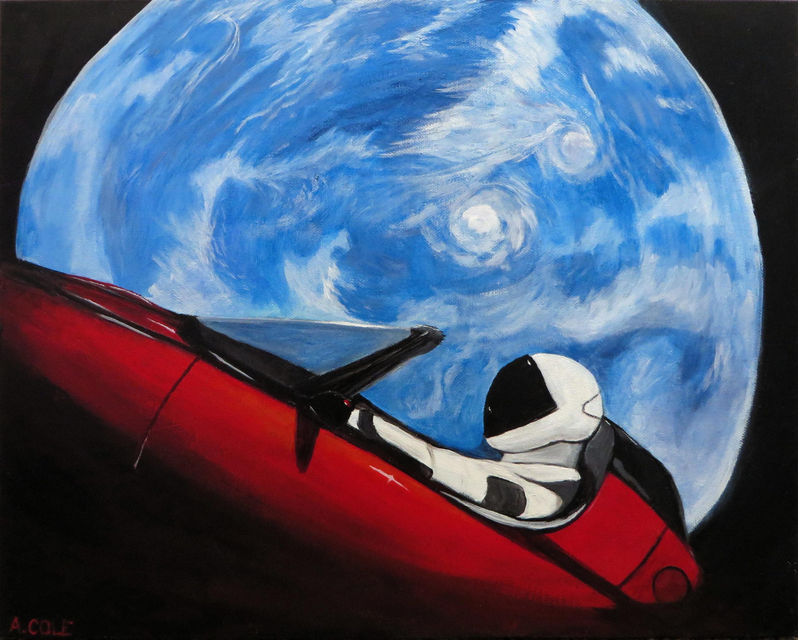 Starman 2 by Andrea Cole
