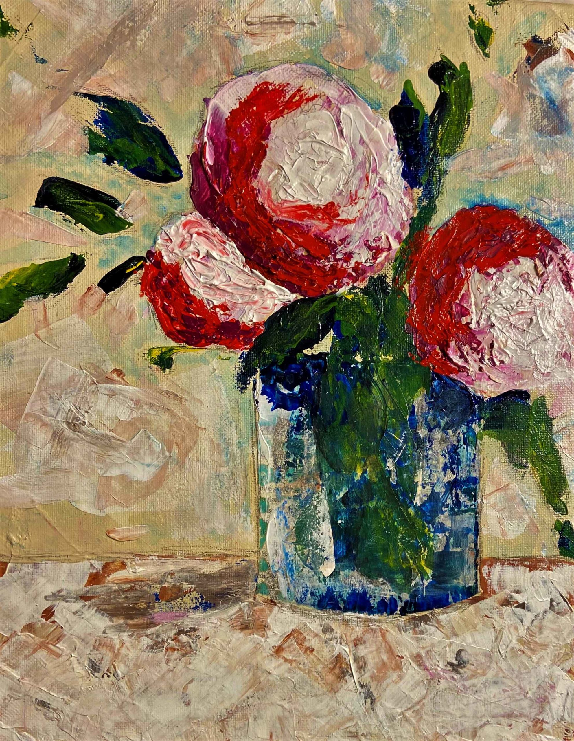 Three in a Vase by Cynthia (Cindy) Matthews