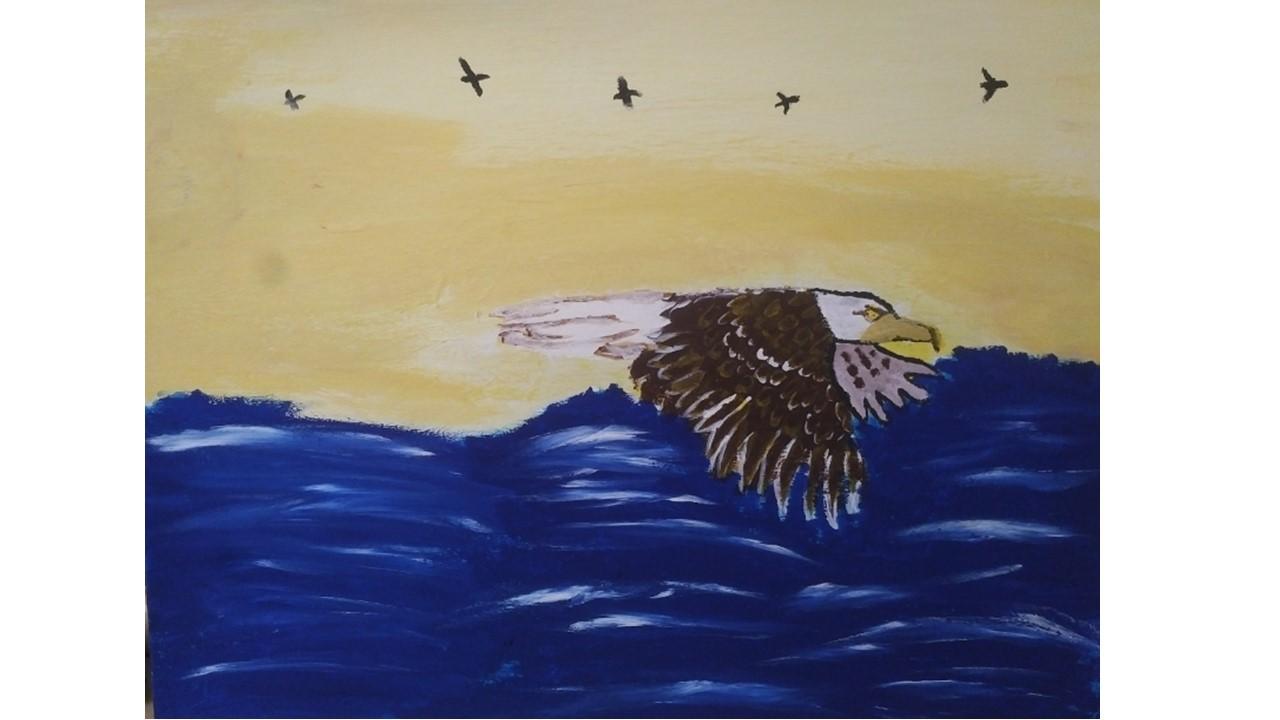 The Soaring Eagle by Muhammed Bozan