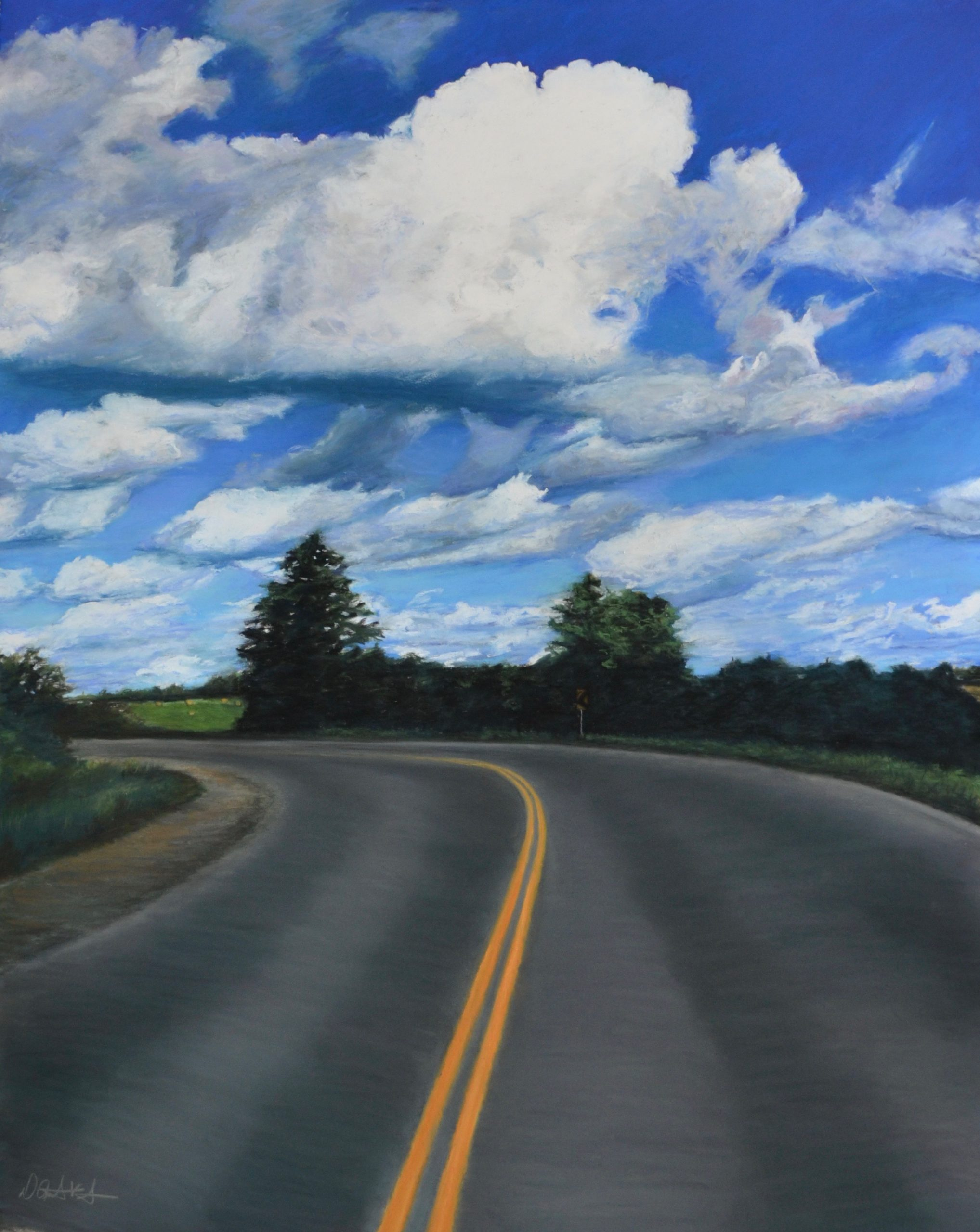 Open Road by Dawn Anderson Vaughan