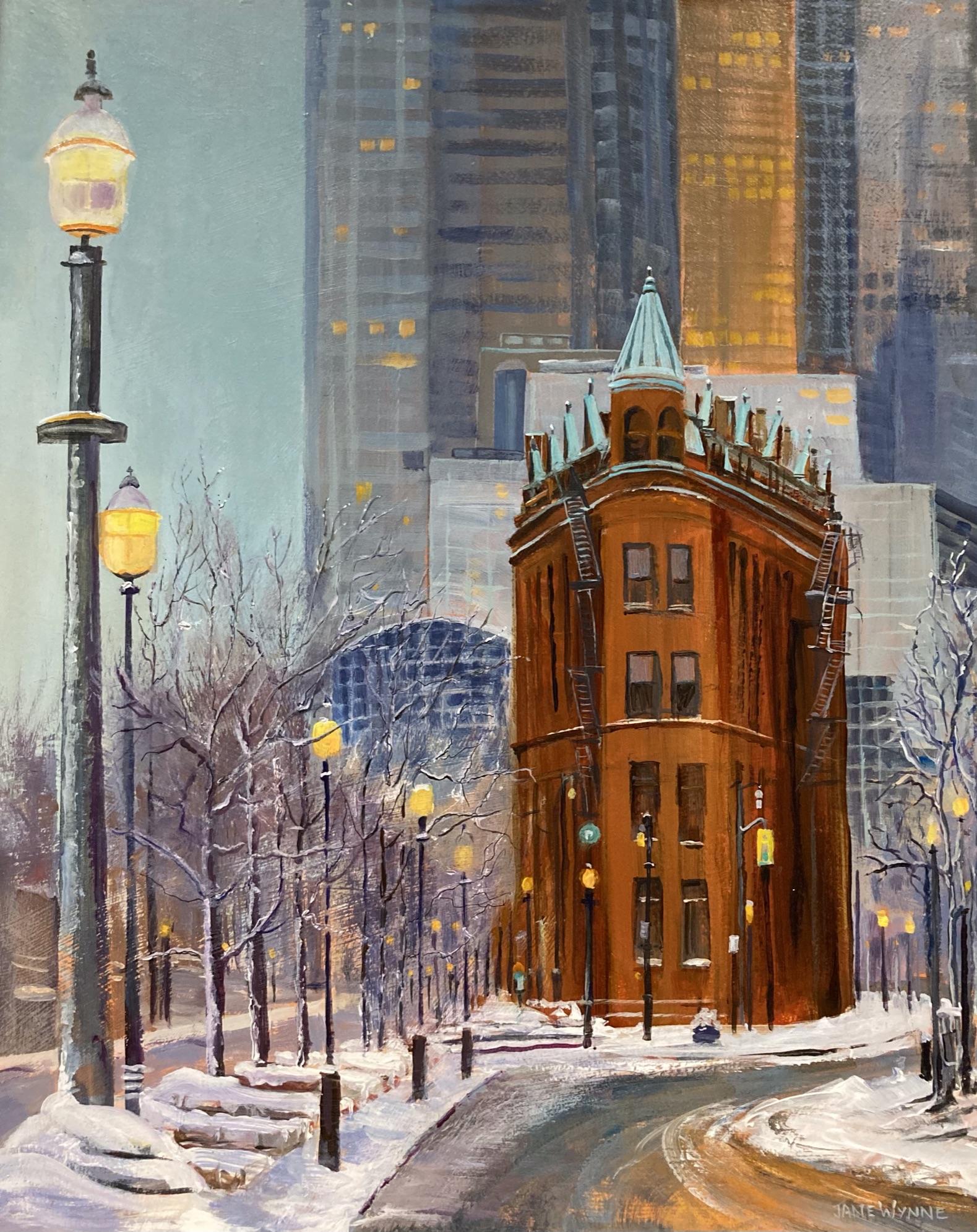 Flat Iron Building by Jane Wynne