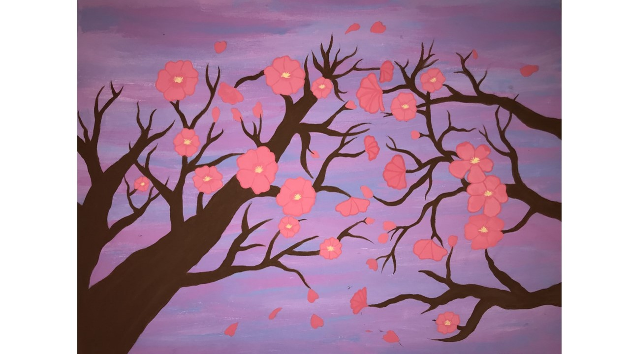 Sakura Sunset by Emily Donahue
