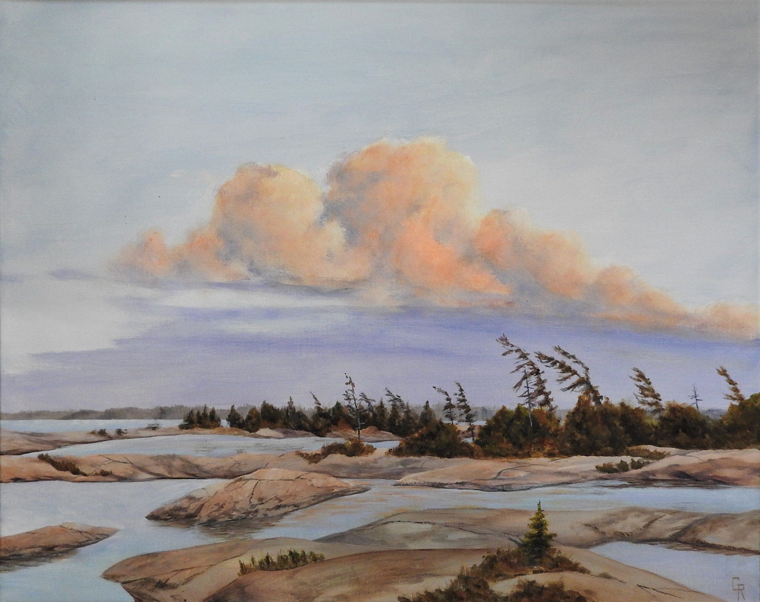 Evening, Georgian Bay by George Rutherford