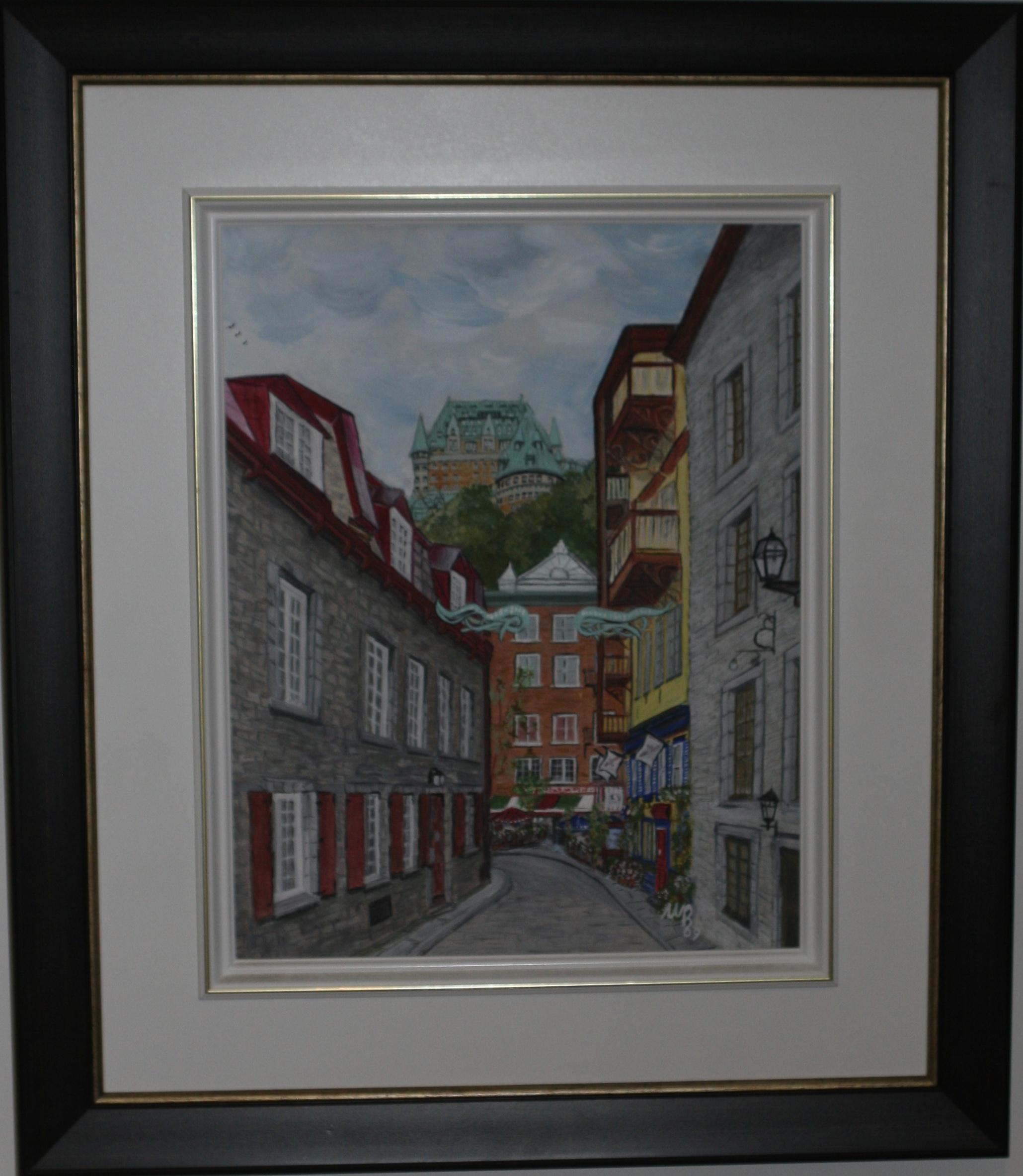 Walking through Quebec City by Margot Brodkorb