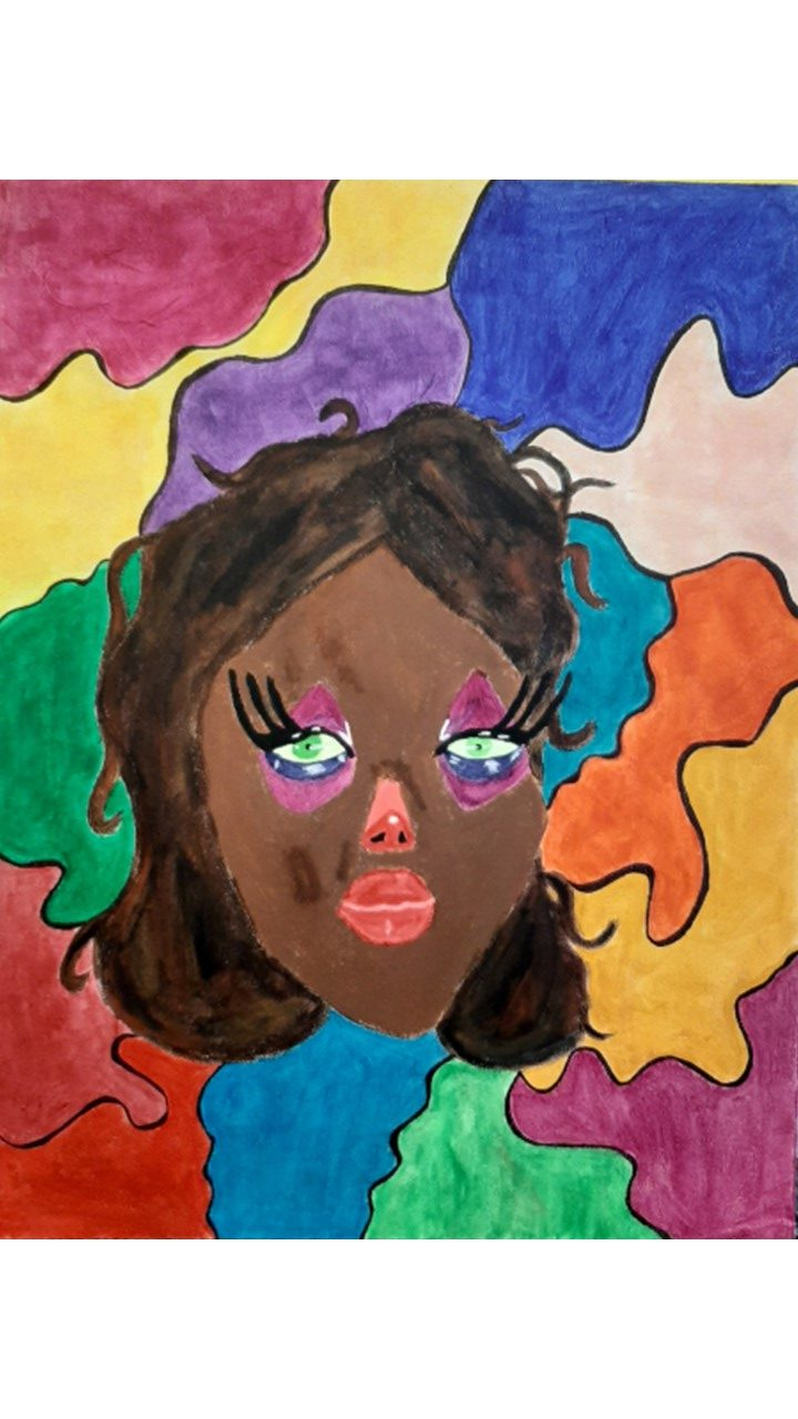 Expressive Portrait by Makena Beaver-Pitre