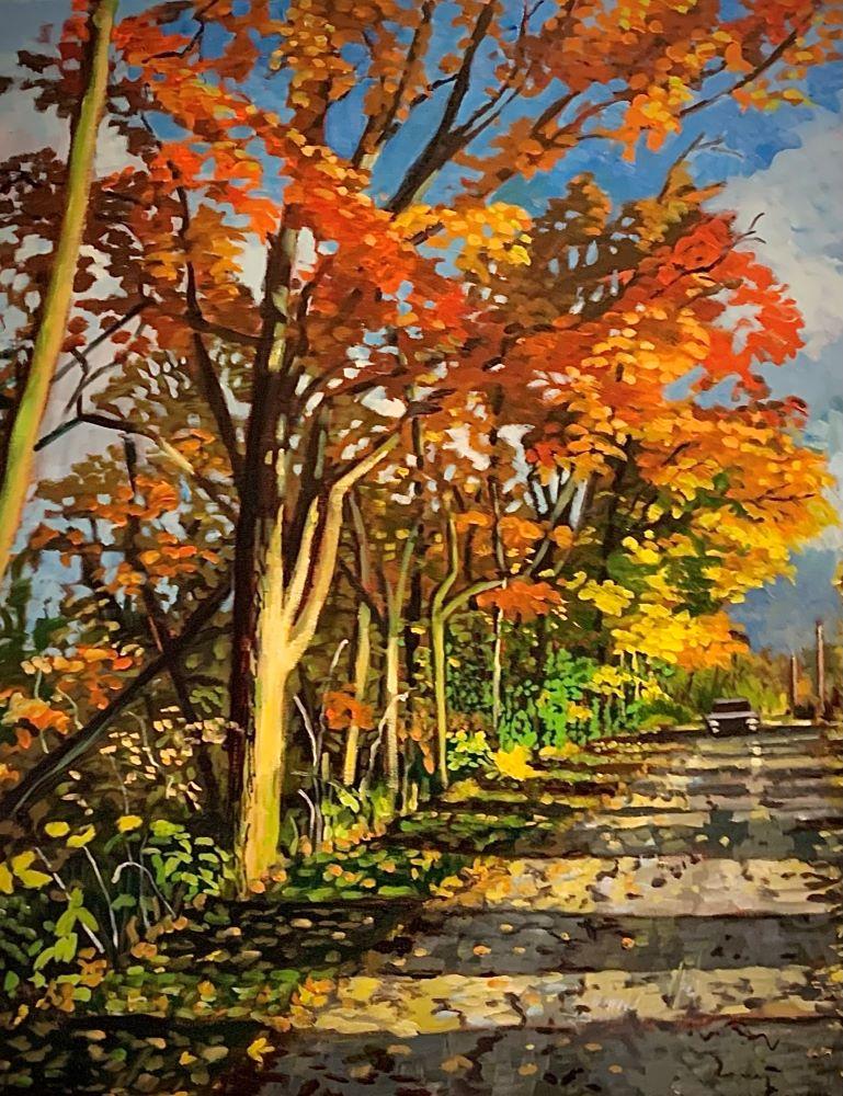 Park Road near Clinton ON by Lynne Ryall