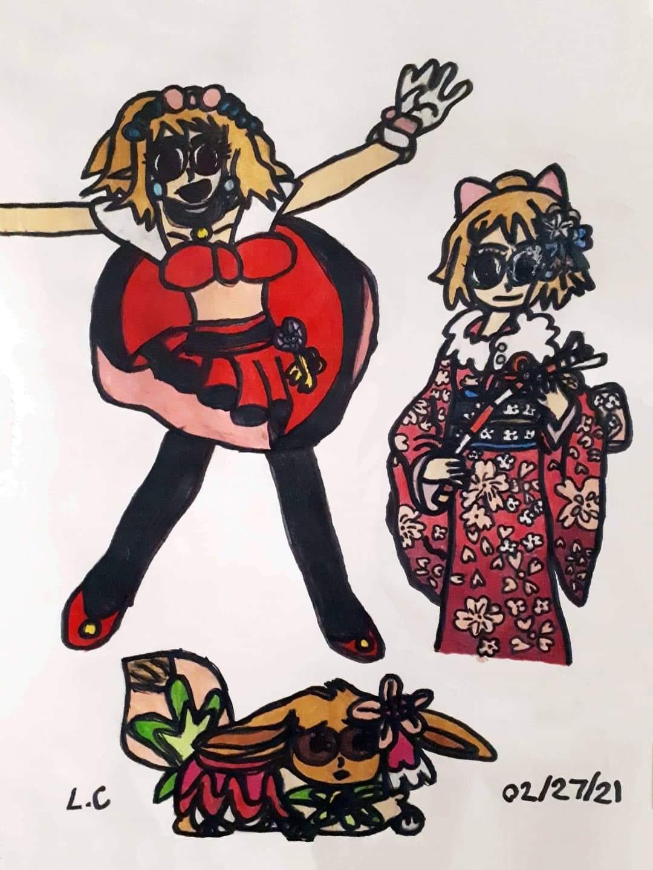 Serena the Kalos Queen by Lillias Culham