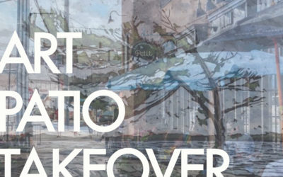 Art Patio Takeover!