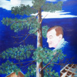 "Homage to Tom Thomson – Acrylic on Canvas – 24"" x 36""   $1,200.00"
